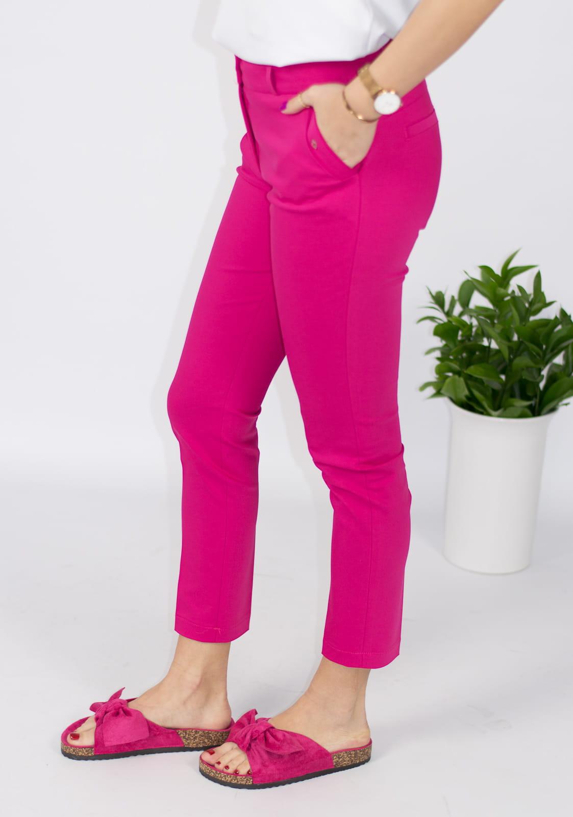 42a4a41af3385d Eleganckie spodnie damskie BB amarantowe 7/8 - Jerodi. 28563_25337.  promocja. 28563_25337 · 28563_25338 · 28563_25339 · 28563_25340
